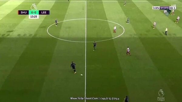 مشاهدة ملخص مباراة شيفيلد يونايتد 0-1 ليدز يونايتد بتاريخ ...