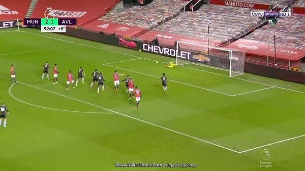 مشاهدة ملخص مباراة مانشستر يونايتد 2-1 أستون فيلا بتاريخ ...