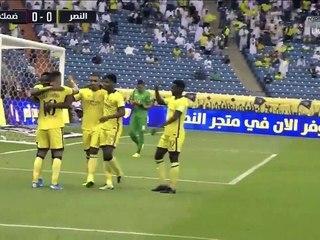 ملخص مباراة النصر وضمك