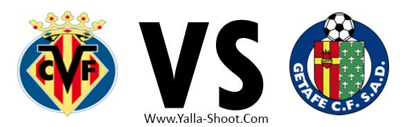 getafe-vs-villarreal