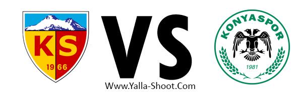 konyaspor-vs-kayserispor