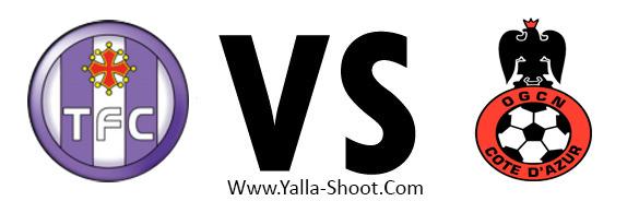 Image result for نيس وتولوز بث مباشر