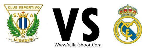 Real Madrid Vs Leganes Live Yalla Shoot