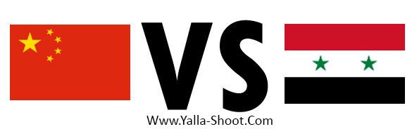 syria-vs-china